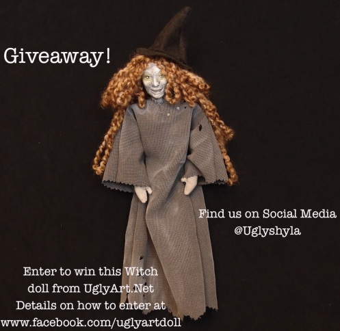 Witch Doll Give Away from Ugly Shyla